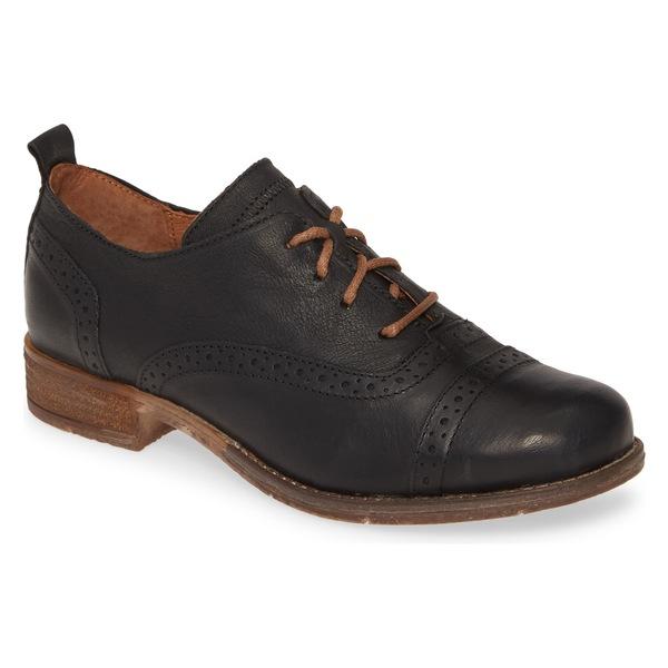 ジョセフセイベル レディース サンダル シューズ Josef Seibel Sienna 73 Oxford (Women) Black Leather