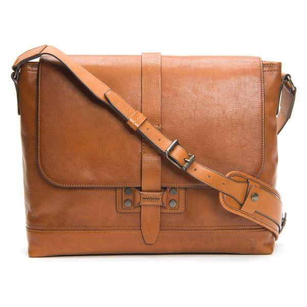 フライ メンズ ショルダーバッグ バッグ 格安店 Frye Leather Messenger Bag Caramel Bowery 公式ストア