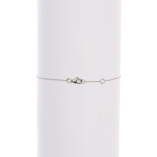 ボニー レヴィ レディース アクセサリー ブレスレット バングル アンクレット 18KW 全商品無料サイズ交換 Mila ctw White セールSALE%OFF Bracelet Circle 18k 0.10 Diamond Gold 高価値 -