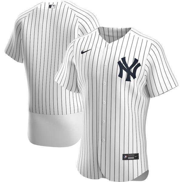 ナイキ メンズ シャツ トップス New York Yankees Nike Home 2020 Authentic Team Jersey White