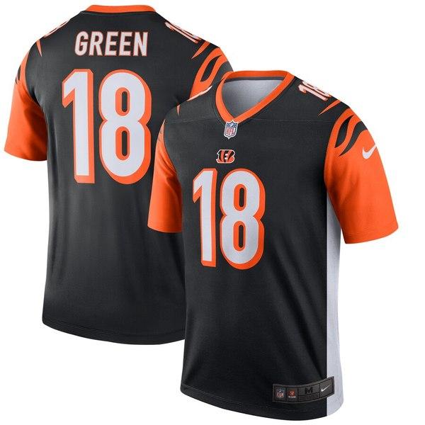 ナイキ メンズ シャツ トップス A.J. Green Cincinnati Bengals Nike Legend Jersey Black