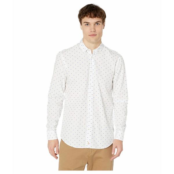 スコッチアンドソーダ メンズ シャツ トップス Relaxed Fit - Fil-Coup Shirt Combo A