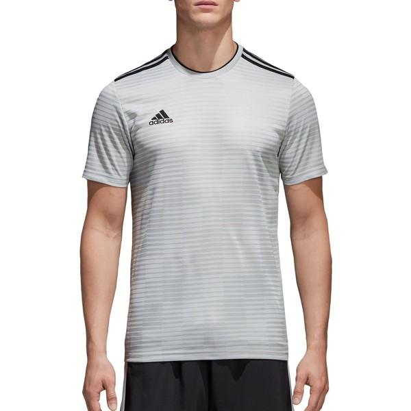 アディダス メンズ パーカー・スウェットシャツ アウター adidas Men's Condivo 18 Soccer Jersey Black
