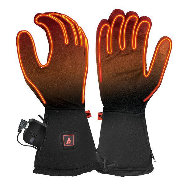 アクションヒート メンズ 手袋 アクセサリー ActionHeat Men's 5V Battery Heated Glove Liners Black