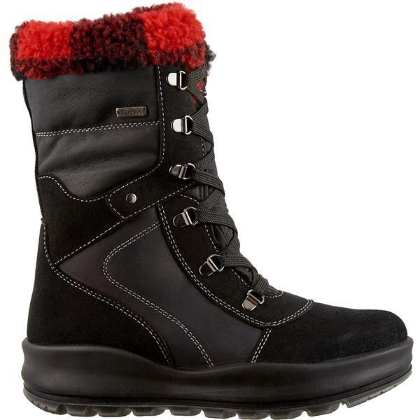 アルパインデザイン レディース ブーツ&レインブーツ シューズ Alpine Design Women's Sofia Waterproof Winter Boots Black