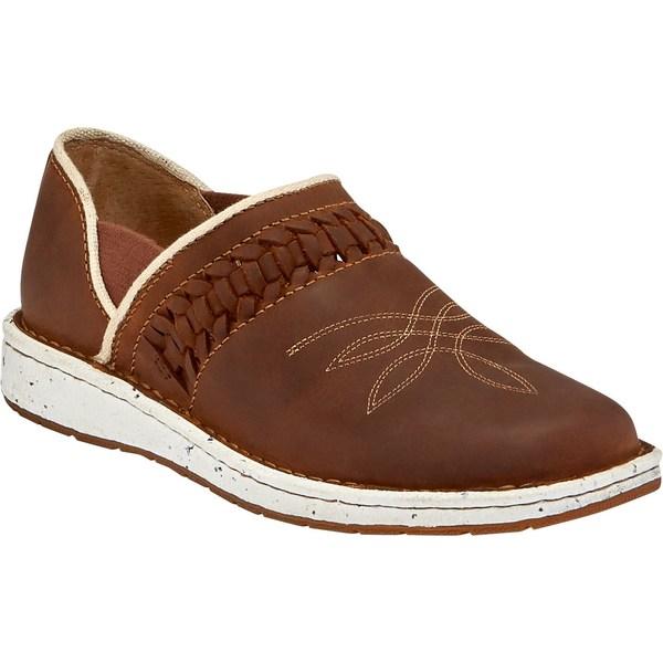 ジャスティンブーツ レディース スニーカー シューズ Justin Women's Poly Casual Shoes Walnut