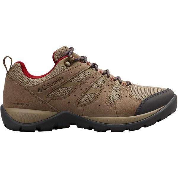コロンビア レディース ブーツ&レインブーツ シューズ Columbia Women's Redmond V2 Waterproof Hiking Shoes Pebble