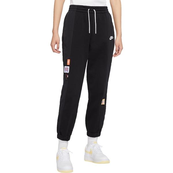 ナイキ レディース カジュアルパンツ ボトムス Nike Sportswear Women's Just Do It Media Pants Black