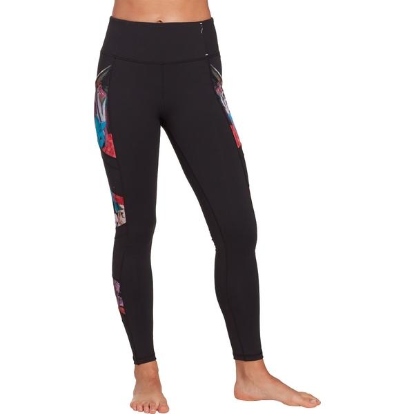 カリア レディース カジュアルパンツ ボトムス CALIA by Carrie Underwood Women's Essential Mesh Leggings PureBlack