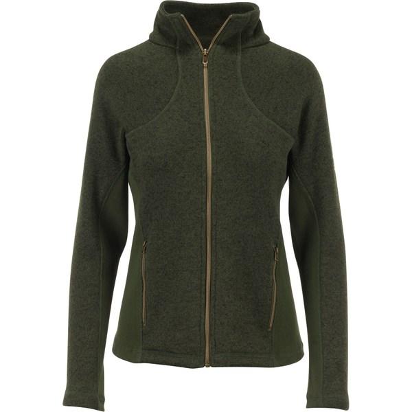 ブロウニング レディース シャツ トップス Browning Women's Hyacinth Sweater Jacket HeatherRifleGreen