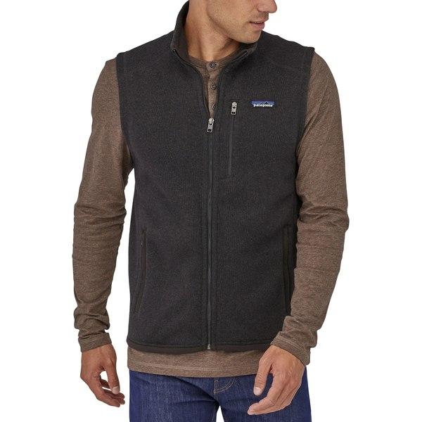 パタゴニア メンズ ジャケット&ブルゾン アウター Patagonia Men's Better Sweater Fleece Vest Black