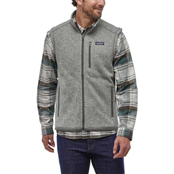 パタゴニア メンズ ジャケット&ブルゾン アウター Patagonia Men's Better Sweater Fleece Vest Stonewash