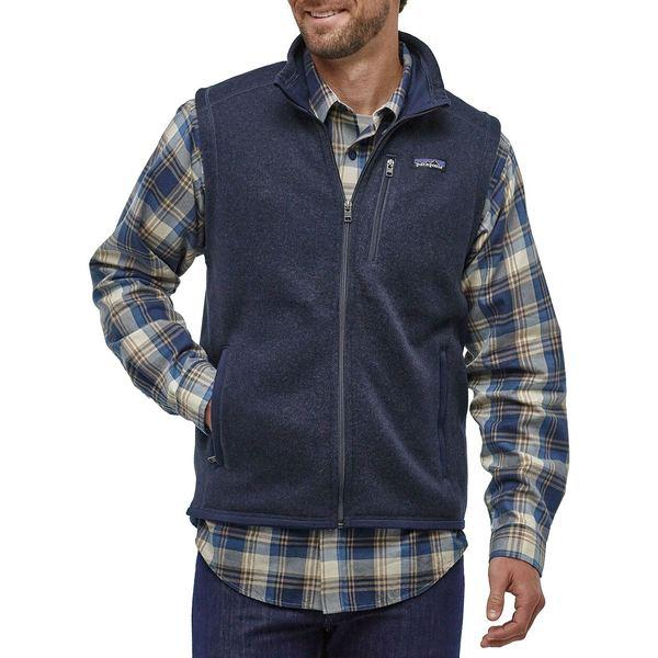 パタゴニア メンズ ジャケット&ブルゾン アウター Patagonia Men's Better Sweater Fleece Vest NewNavy