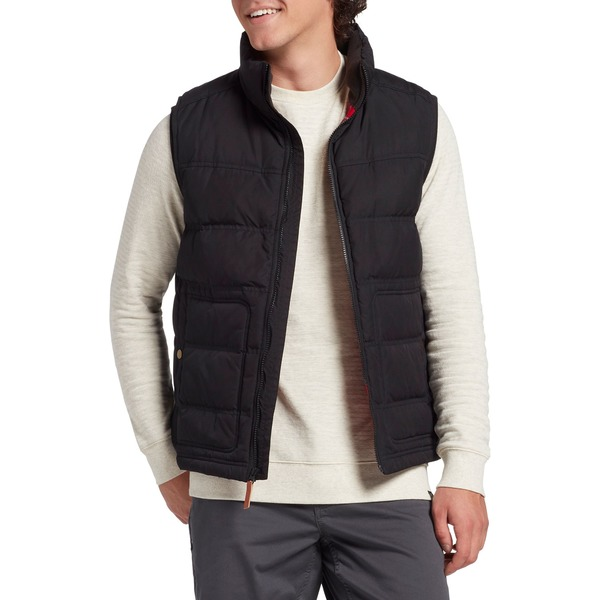 アルパインデザイン メンズ ジャケット&ブルゾン アウター Alpine Design Men's Ember Mountain Down Vest PureBlack