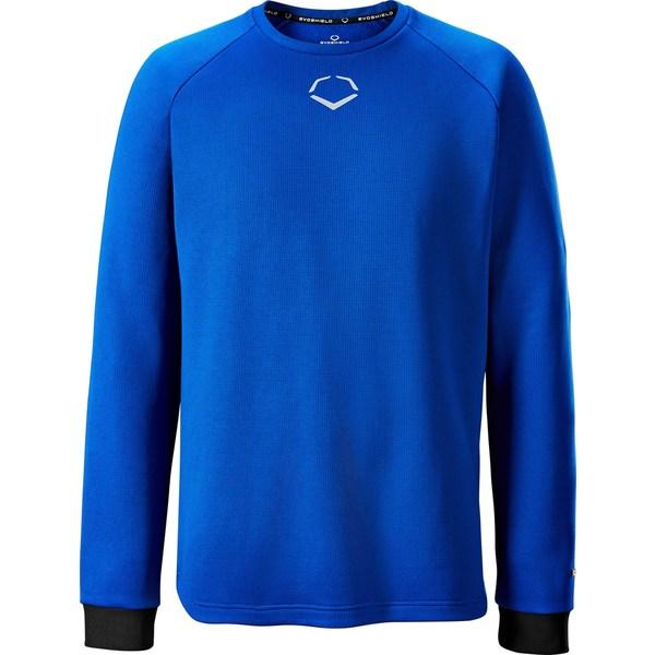 エボシールド メンズ 野球 スポーツ EvoShield Men's Pro Team Heater Fleece Shirt Royal