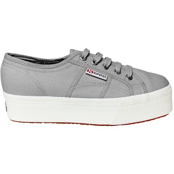 スペルガ レディース スニーカー シューズ Superga Women's 2790 ACOTW Platform Shoes Grey/White