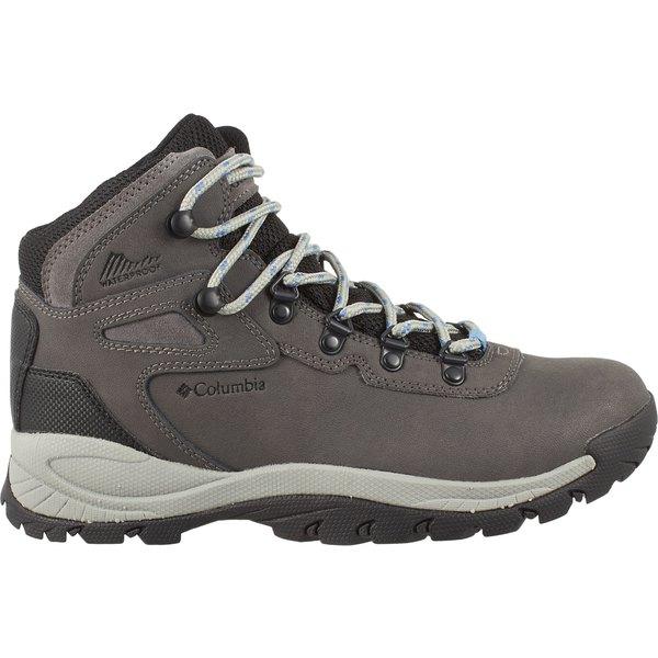 コロンビア レディース ブーツ&レインブーツ シューズ Columbia Women's Newton Ridge Plus Mid Waterproof Hiking Boots Quarry
