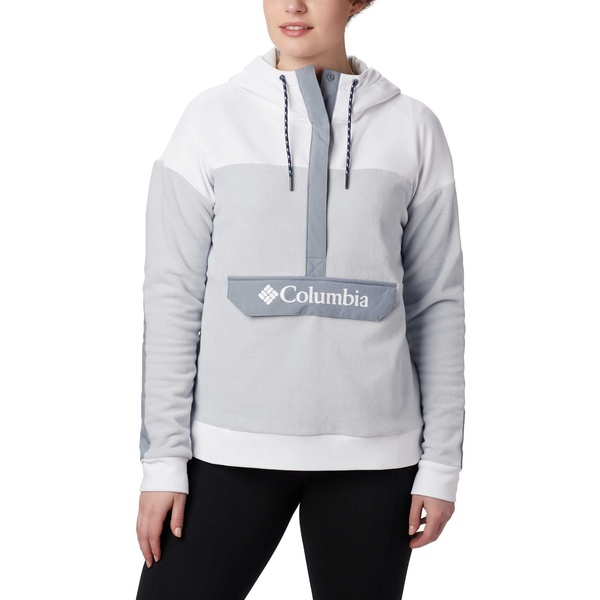 Columbia レディース アウター パーカー スウェットシャツ 新発売 CirrusGrey White コロンビア Exploration Hoodie 全商品無料サイズ交換 Anorak Women's Fleece 信用