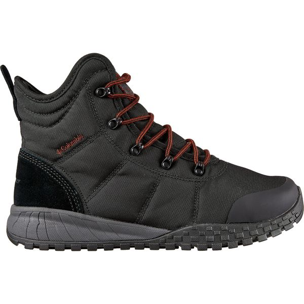 コロンビア メンズ ブーツ&レインブーツ シューズ Columbia Men's Fairbanks Omni-Heat 200g Waterproof Winter Boots Black