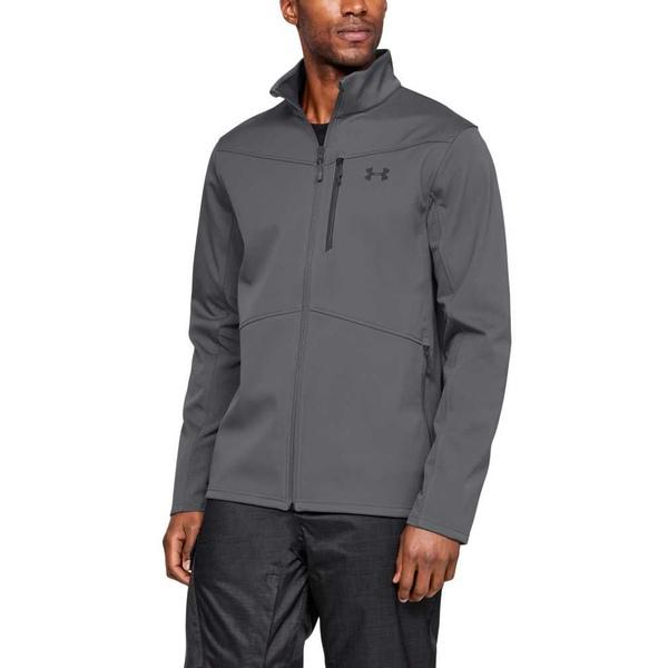 アンダーアーマー メンズ ジャケット&ブルゾン アウター Under Armour Men's Softshell Jacket (Regular and Big & Tall) Graphite