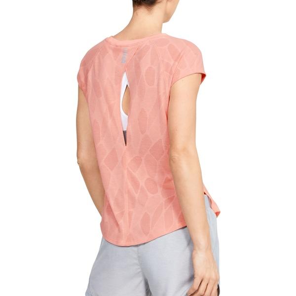 アンダーアーマー レディース シャツ トップス Under Armour Women's Streaker Shift Running T-Shirt 2.0 PeachFrost/Calla