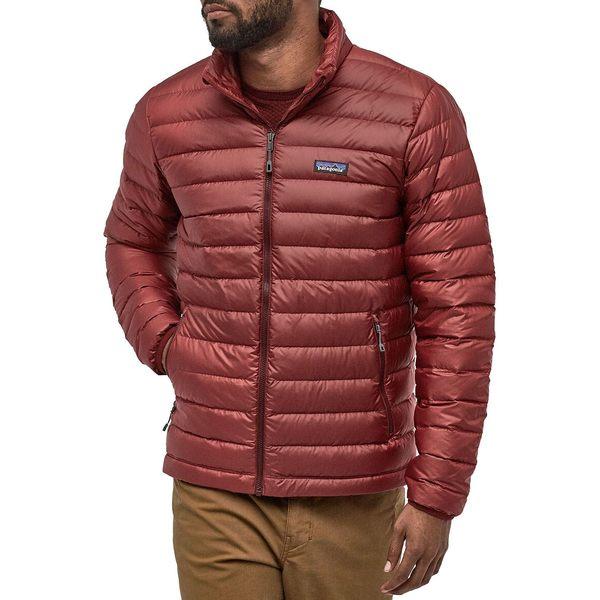 パタゴニア メンズ ジャケット&ブルゾン アウター Patagonia Men's Down Sweater Jacket OxideRed