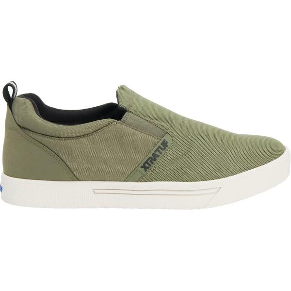 エクストラタフ メンズ スニーカー シューズ XTRATUF Men's Topwater Slip-On Casual Shoes Olive