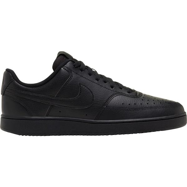 ナイキ メンズ スニーカー シューズ Nike Men's Court Vision Shoes Black