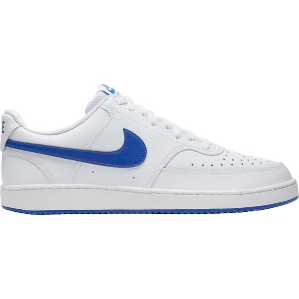 ナイキ メンズ スニーカー シューズ Nike Men's Court Vision Shoes White/Royal