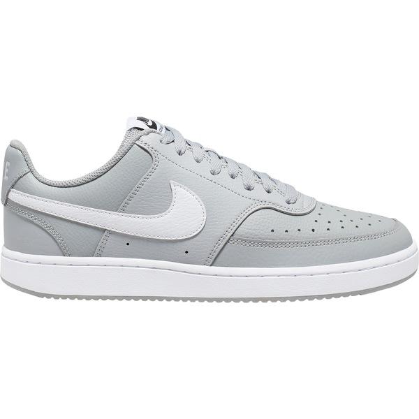 ナイキ メンズ スニーカー シューズ Nike Men's Court Vision Shoes Grey/White/Black