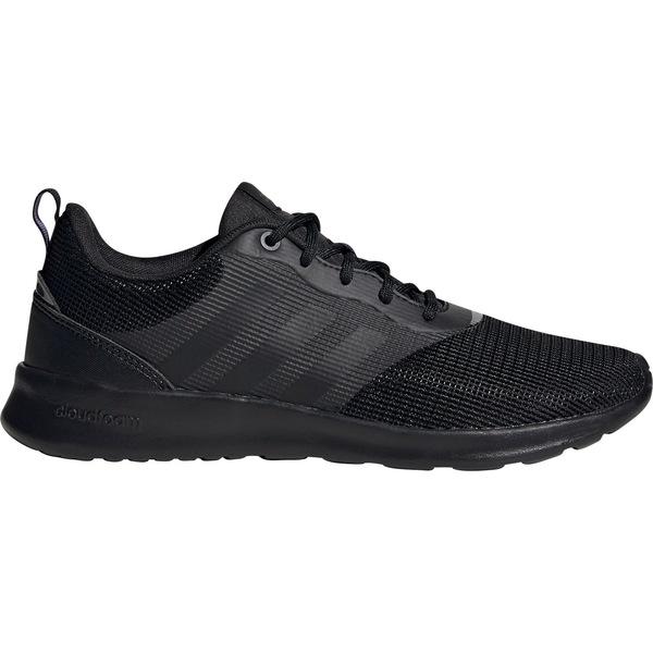 アディダス レディース スニーカー シューズ adidas Women's QT Racer 2.0 Shoes Black/Onix