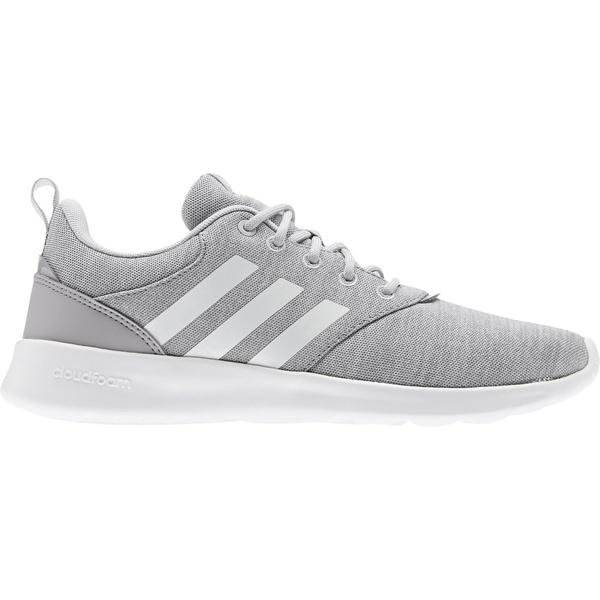 アディダス レディース スニーカー シューズ adidas Women's QT Racer 2.0 Shoes Gray/White