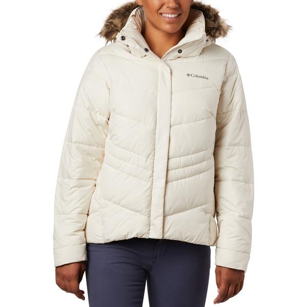 コロンビア レディース ジャケット&ブルゾン アウター Columbia Women's Peak to Park Winter Jacket Chalk