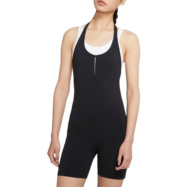 ナイキ レディース シャツ トップス Nike Women's Luxe Halter Jumpsuit Black