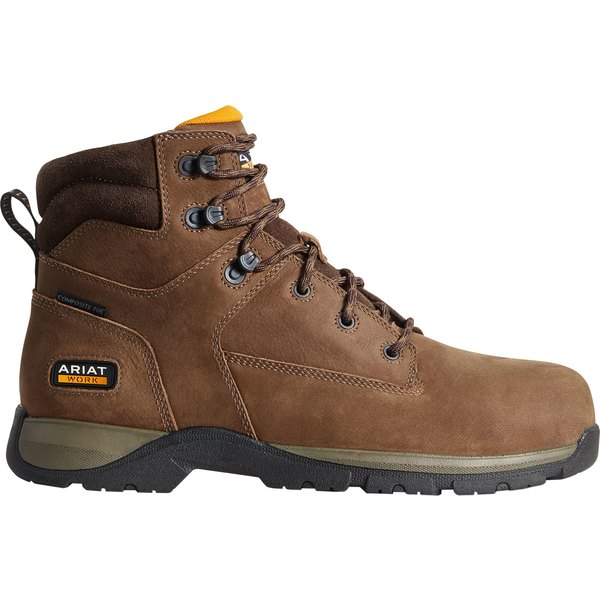 アリアト メンズ ブーツ&レインブーツ シューズ Ariat Men's Edge LTE 6'' Composite Toe Work Boots DarkBrown