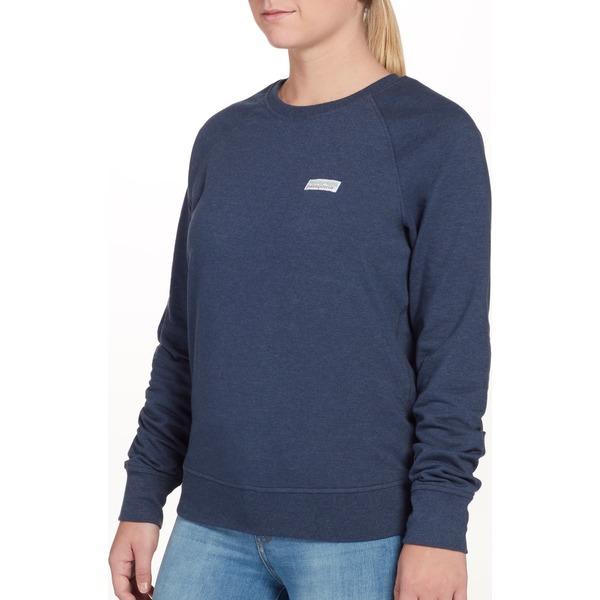 パタゴニア レディース パーカー・スウェットシャツ アウター Patagonia Women's Pastel P-6 Label Ahnya Crew Sweatshirt StoneBlue