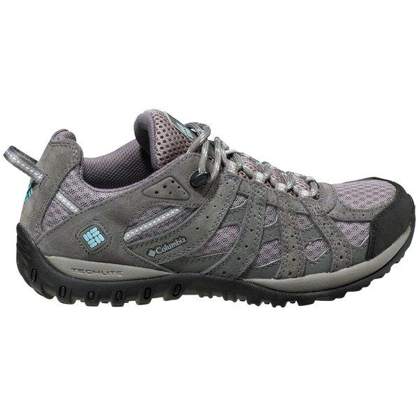 コロンビア レディース ブーツ&レインブーツ シューズ Columbia Women's Redmond Low Hiking Shoes BoulderSkyBlue