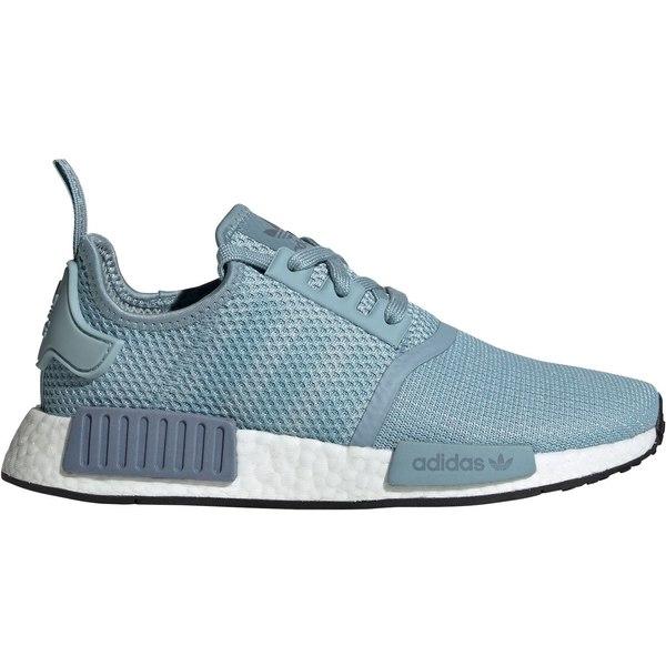 アディダス レディース スニーカー シューズ adidas Originals Women's NMD_R1 shoes BlueGrey