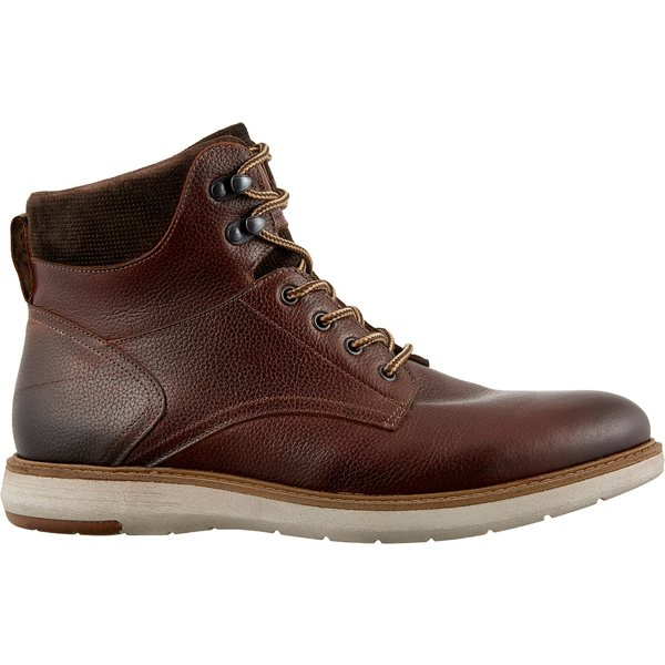 アルパインデザイン メンズ スニーカー シューズ Alpine Design Men's Lace-Up Casual Boots Brown
