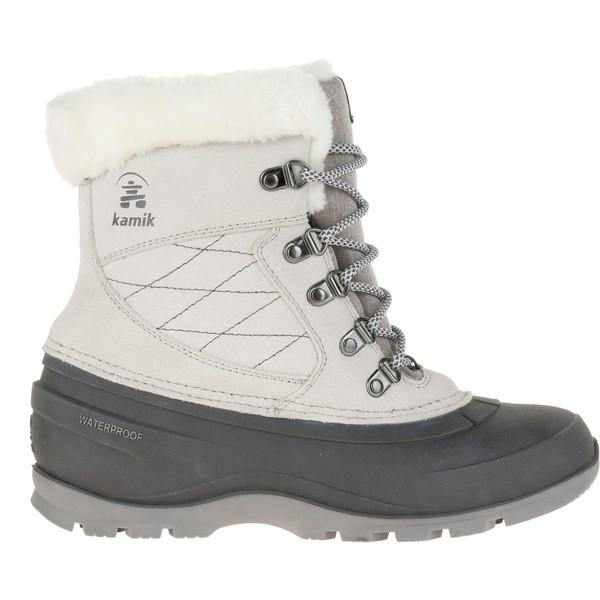 カミック レディース ブーツ&レインブーツ シューズ Kamik Women's SnovalleyL 200g Waterproof Winter Boots LightGrey