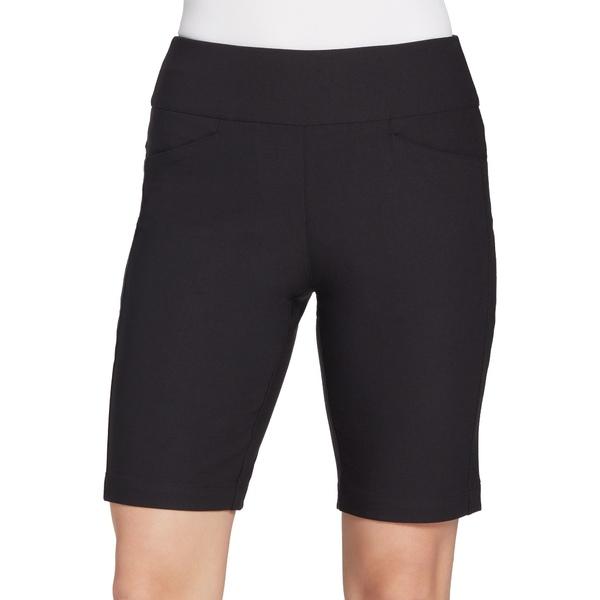 """レディハーゲン レディース カジュアルパンツ ボトムス Lady Hagen Women's 10"""" Golf Shorts Black"""