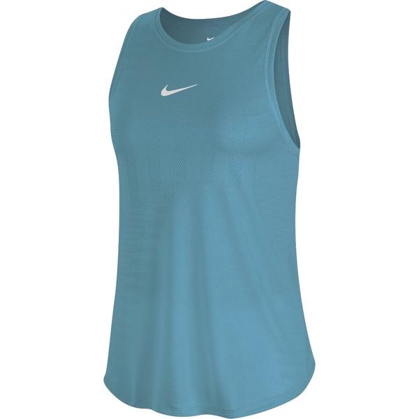 ナイキ レディース シャツ トップス Nike Women's Runaway Tank Top Cerulean