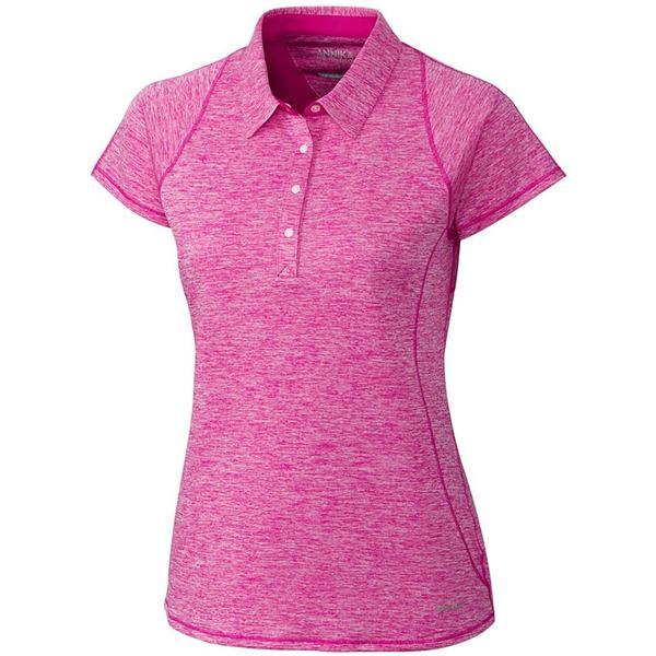 アニカ レディース シャツ トップス Cutter & Buck Women's Annika Frequency Golf Polo Thrill