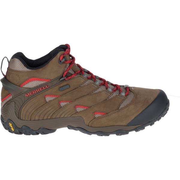 メレル メンズ ブーツ&レインブーツ シューズ Merrell Men's Chameleon 7 Mid Waterproof Hiking Boots Boulder