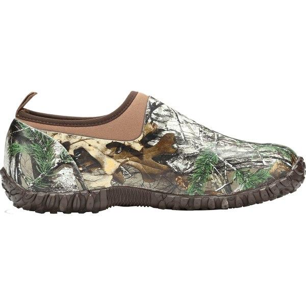 ムックブーツ メンズ ブーツ&レインブーツ シューズ Muck Boots Men's Muckster II Low Rubber Hunting Shoes RealtreeXtra