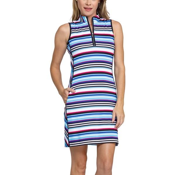 テイル レディース シャツ トップス Tail Women's Danville Print Golf Dress PolychromeStripe