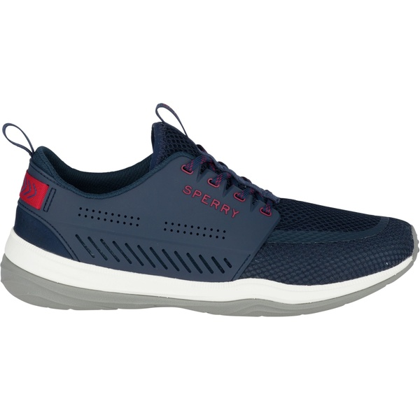 トップサイダー メンズ スニーカー シューズ Sperry Men's H2O Skiff Casual Shoes Navy