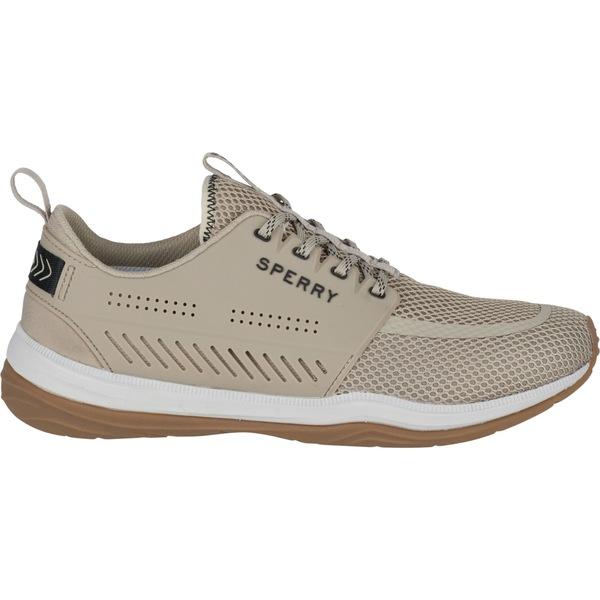 トップサイダー メンズ スニーカー シューズ Sperry Men's H2O Skiff Casual Shoes Taupe