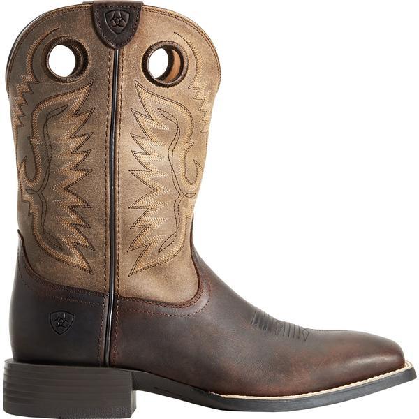 アリアト メンズ ブーツ&レインブーツ シューズ Ariat Men's Sport Ranger Western Boots Barley
