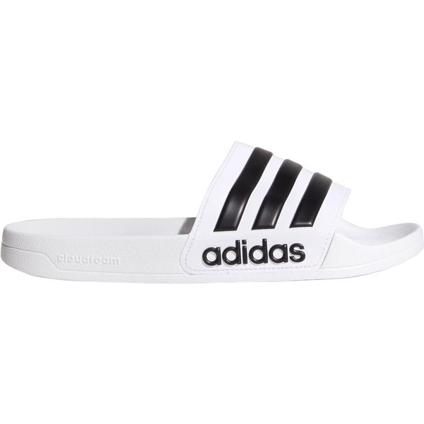 アディダス メンズ サンダル シューズ adidas Men's Adilette Shower Slides White/Black